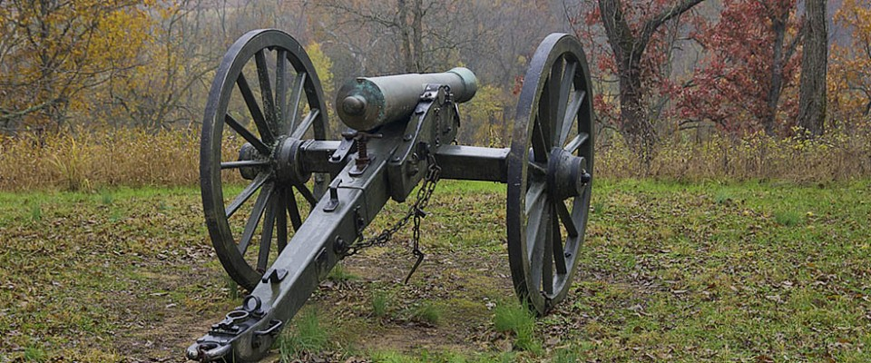 Wilson's Creek National Battlefield Cannon